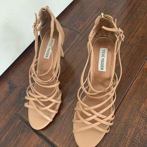Steve Madden strappy sandal heels